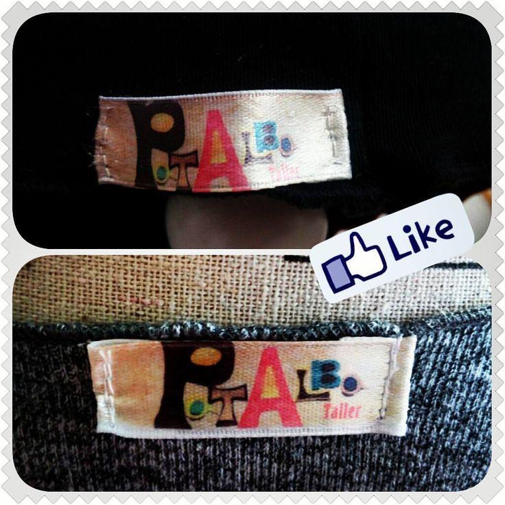 Mis primeras etiquetas, me encantan!!....muchas gracias @kmorel.5 @moyna.cl  #patalbataller #diseñoindependiente #diseñodeautor #vestuario #artesana