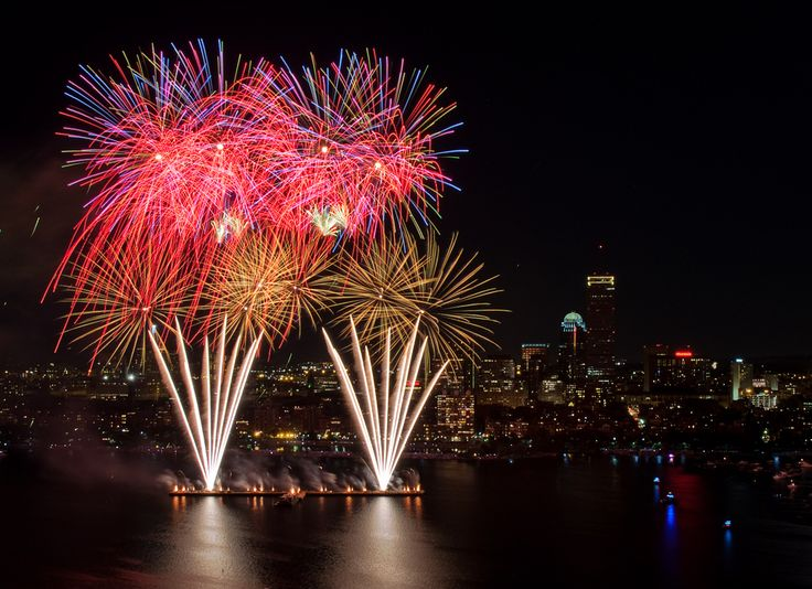 4th of July Boston Esplanade | ... boston draws huge crowds for our 4th of july fireworks on the