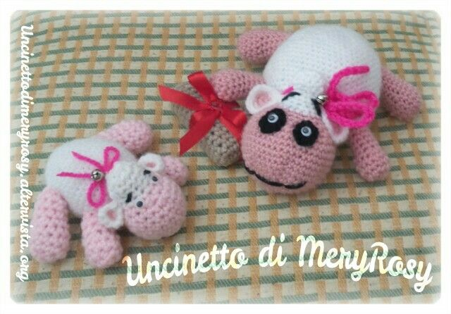 Amigurumi little sheep