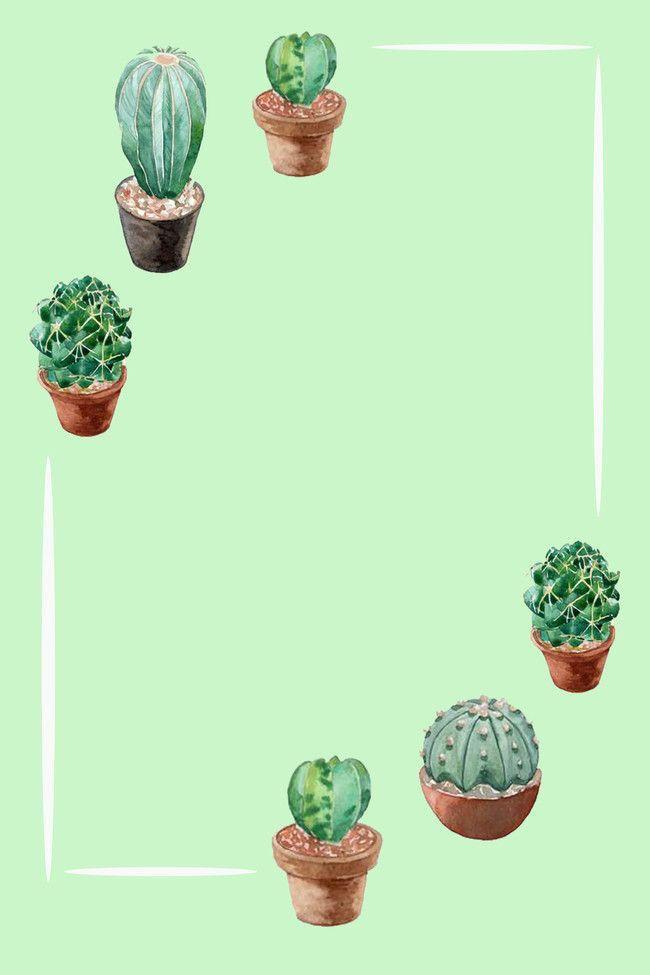 Poster cactus para imprimir