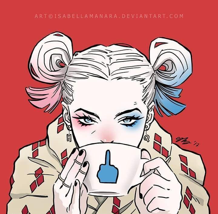 Harley Quinn by Isabella Manara