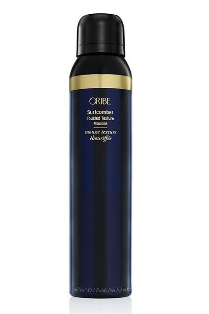 "The Best Products For Your Hair Needs #refinery29  http://www.refinery29.com/hair-styling-products#slide-11  Short Hair: Textured Style  ""Oribe Surfcomber is a unique, waxy mousse,"" says Solano. ""It amps up short hair with tons of texture and hold that will last and last."" The formula foams up to a thick, almost shaving cream-like consistency. But, once worked through the hair, it feels more tactile — like a light pomade, which Solano says is ""great for adding definition."""