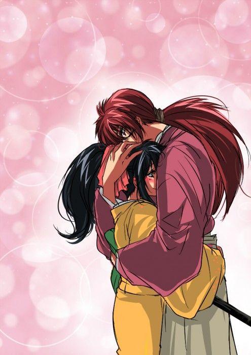 kamisamafr:  Kenshin Himura  Kaoru Kamiya -- so sweet.