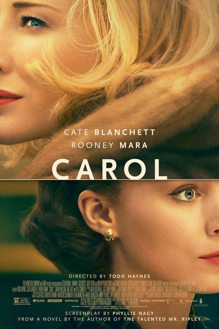 Poster Premiere: Carol — with Cate Blanchett and Rooney Mara