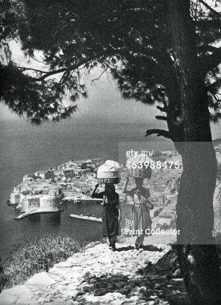 Dubrovnik, Croatia, 1937.