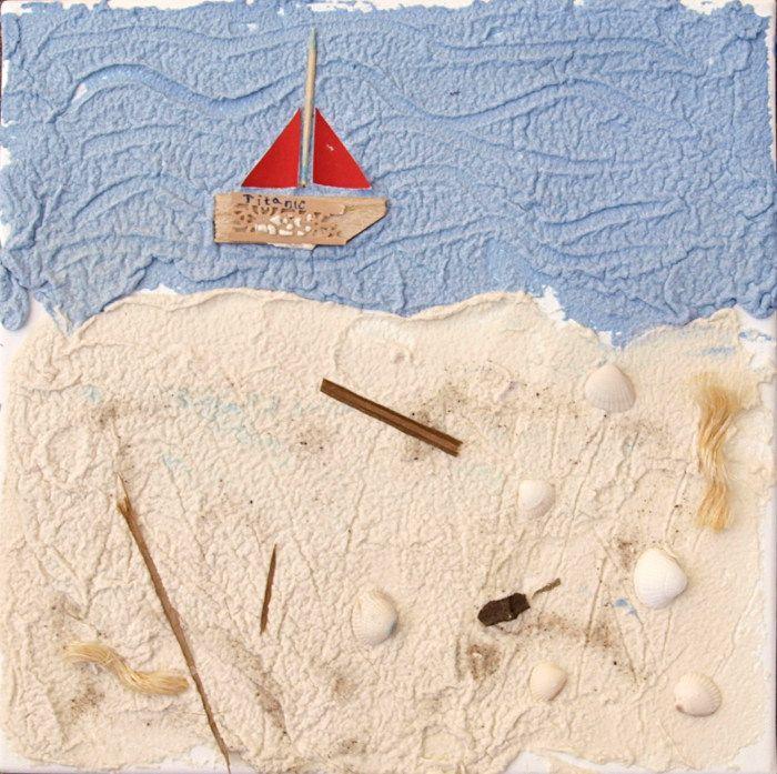 Salzteig-Ideen: Ein Reliefbild