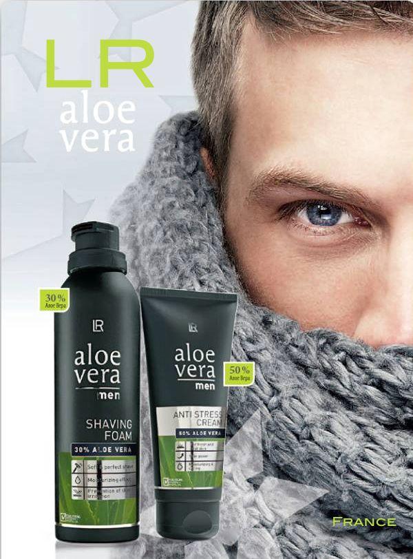 LR Produits Aloé vera pour Homme - Fred ANDRIEU - Activité à domicile - Email : info.lr.contact@gmail.com