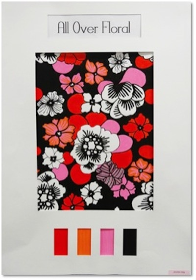 Surface Design Diploma - Industry Awards December 2012  Sublitech Swimwear Design Highly Commended - Jennifer Haig