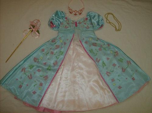 Disney Princess Giselle Enchanted Pink Costume girl dress ...