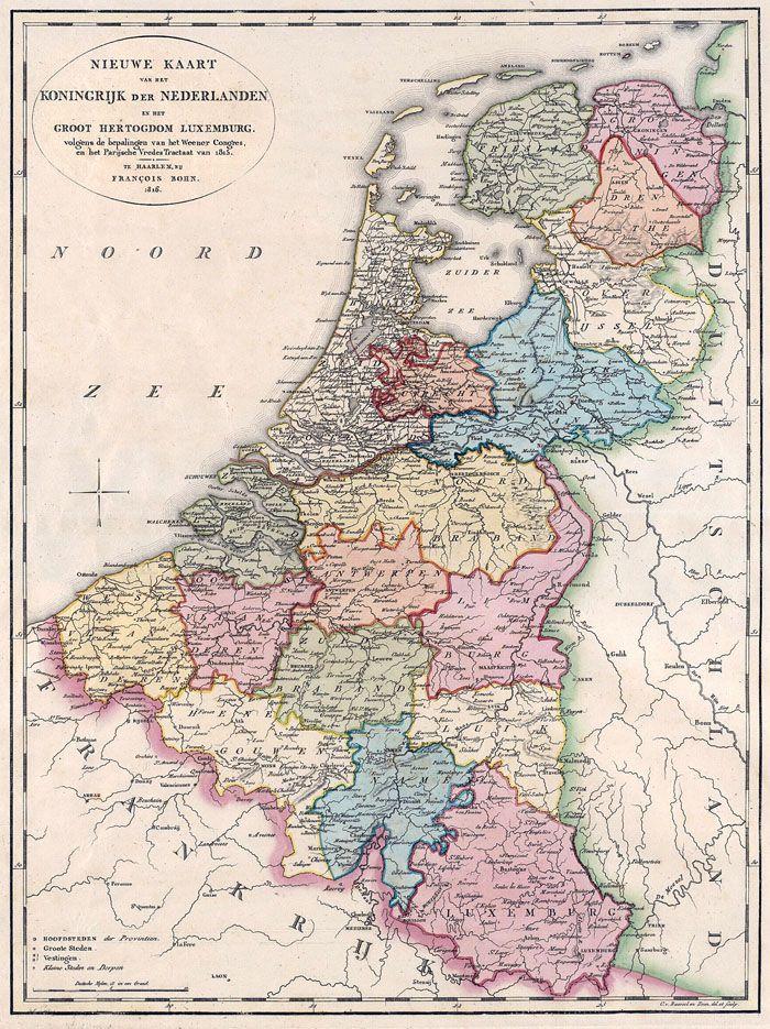 Koninkrijk der Nederlanden + Luxemburg 1816 Bohn