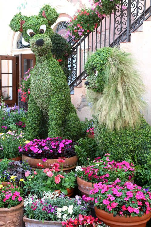 One Of The Fan Favorite Topiaries, On Display For The 2012 Epcot  International Flower. Topiary GardenGarden ArtInternational ...