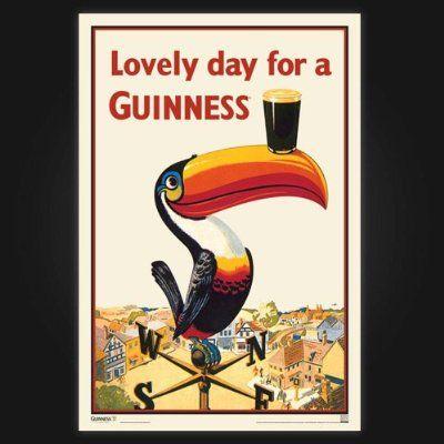 Guinness Toucan Poster : advertising
