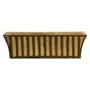 Rectangle Lechuza Balconera Cottage Self-Watering Resin Planter - Planters at Hayneedle