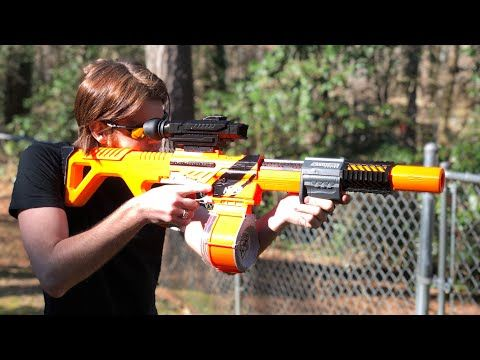 349) NERF MOD: The ULTIMATE Nerf Accutrooper - YouTube