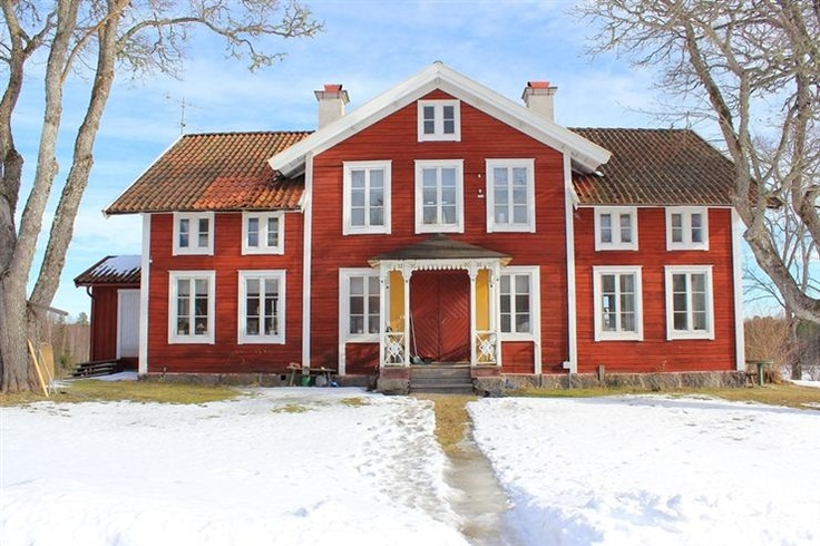 Old Swedish farmhouse