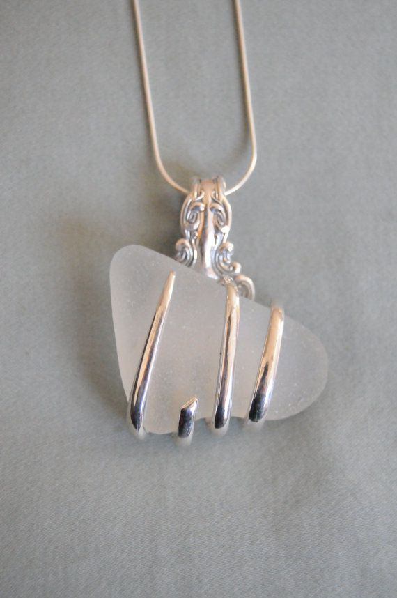 Sterling Silver Fork Necklace by LBanfitch on Etsy, $100.00