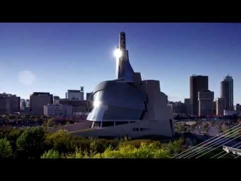 Canadian Museum for Human Rights is where Canada's Heart... Beats. #exploremb
