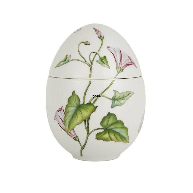 Easter egg, bonbonniere standing with bindweed