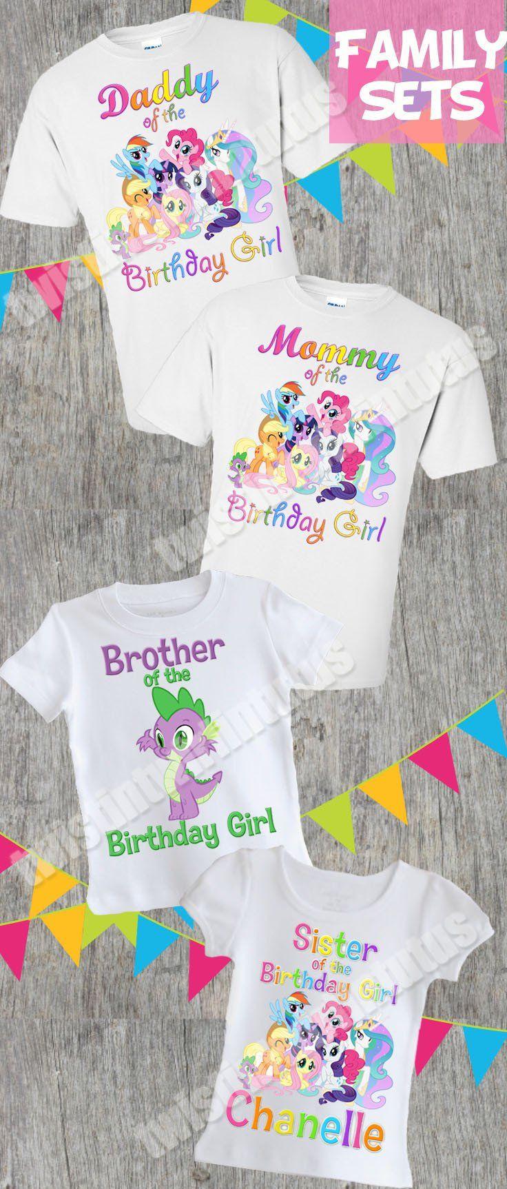 83083cc0 My Little Pony Family Birthday Shirts | My Little Pony Birthday Shirt | My  Little Pony Birthday Party Ideas | Birthday Ideas for Girls | Twisttin  Twirlin ...