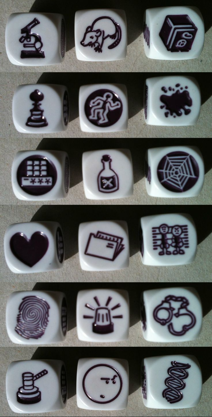 Rory's Story Cubes: Clues | Image | BoardGameGeek