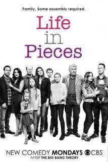 Life in Pieces (2015– ) - CBS) Monday, Sept. 21, 2015  at 8:30 p.m. A family comedy told through the separate stories of different family members. -   Creator: Justin Adler -  Stars: Colin Hanks, Betsy Brandt, Thomas Sadoski - COMEDY