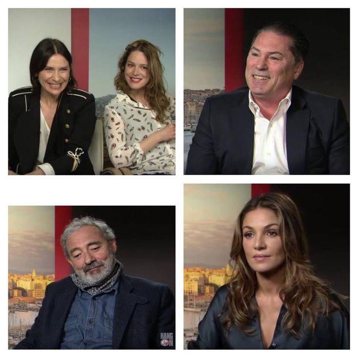 MARSEILLE (Entretiens avec Florent Siri, Dan Franck, Géraldine Pailhas, Stéphane Caillard et Nadia Farès)