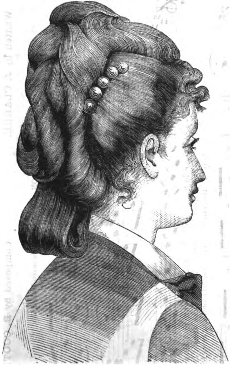 19th Century Historical Tidbits: 1876 Hair Fashions
