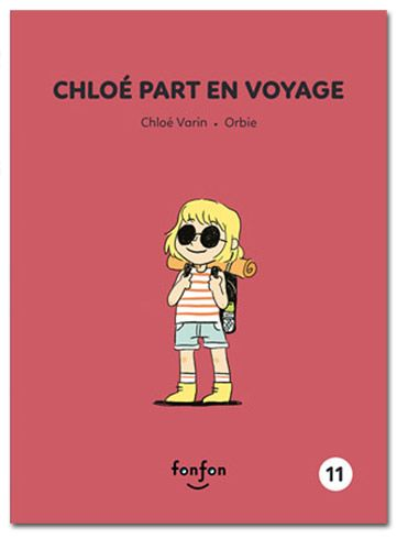 Chloé part en voyage - Illustrations Orbie