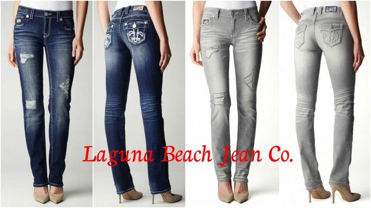Laguna Beach Jean Co. Destroyed Denim for Women - www.lagunabeachjc.com ⚜ #rocktheoclifestyle