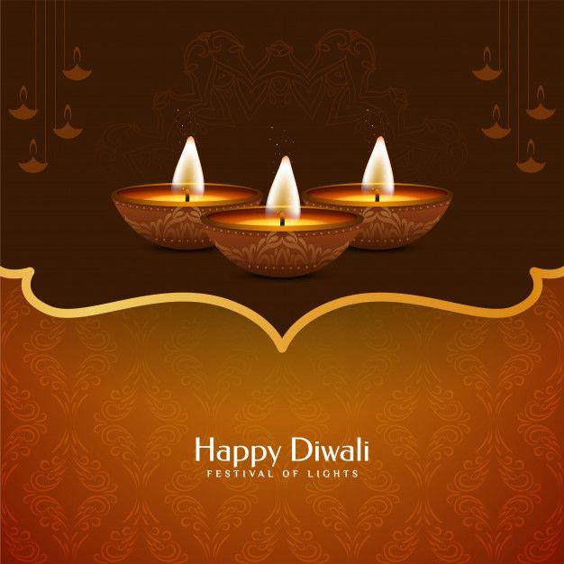 Download Beautiful Happy Diwali Decorative Background Design For Free Happy Diwali Diwali Wishes Happy Diwali Wallpapers