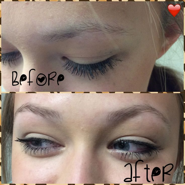 Inspiration by Hannah Kerney from Everett Community College Cosmetology. Eyebrow tinting #eyebrows @bloomdotcom