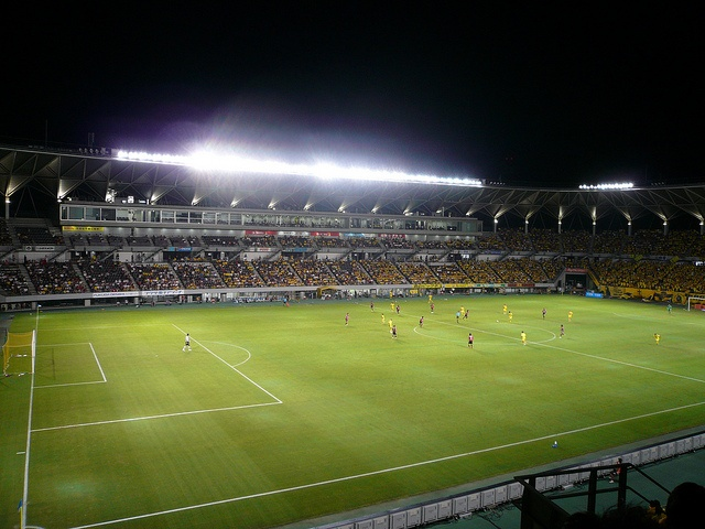 football match, JEF United Chiba. Almost all people in the world love football!