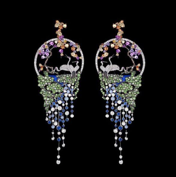 Gilan Grand Pheasants Earrings..#GilanWoman #WalkingTaller #gilanistanbul