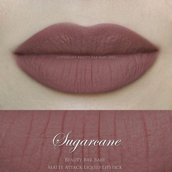 Sugarcane Liquid Lipstick Matte Liquid Lipstick by BeautyBarBaby