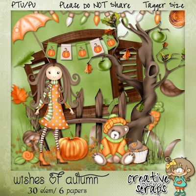Creative Scraps by Crys: Autumn kit Freebie