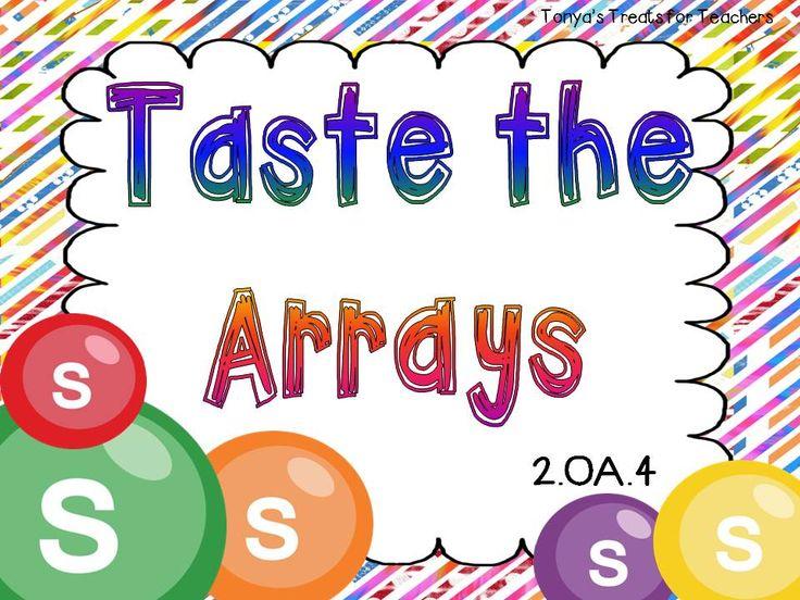 skittles math games   Tonya's Treats for Teachers: Taste the Arrays