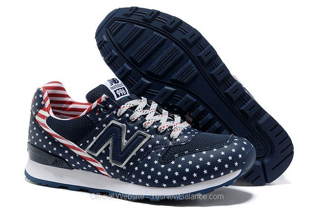 Women's New Balance WR996FN - Navy / White / Red