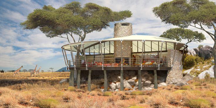 Serengeti Lodge, Tanzania Africa   Tom Wright : WKK