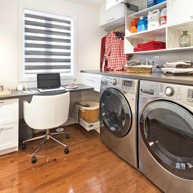 Du lavage au bureau - Bureau - Inspirations - Décoration et rénovation - Pratico Pratique