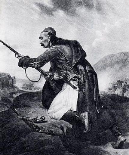 ellinas polemistis Greek War 1821, 25η Μαρτίου