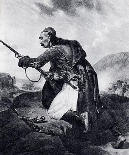 ellinas polemistis Greek War 1821, 25η Μαρτίου