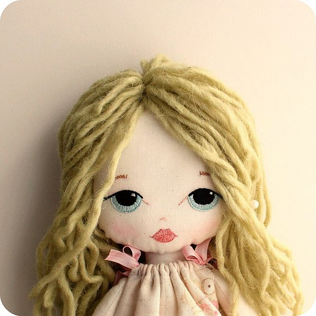 new cloth doll | Flickr - Photo Sharing!