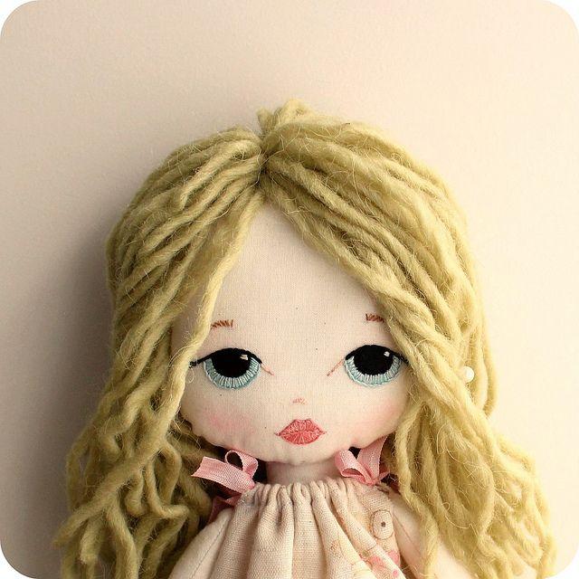 new cloth doll | Flickr - Photo Sharing!