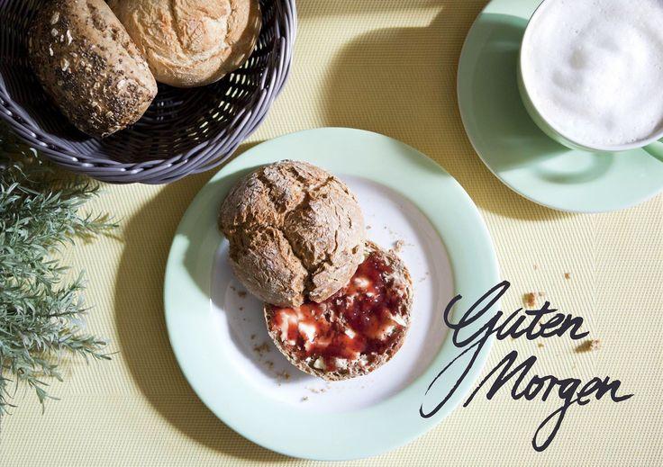 Mit dem wunderschönen und farbenfrohen Geschirr von Kahla bringt das Sonntagsfrühstück noch mehr Freude!