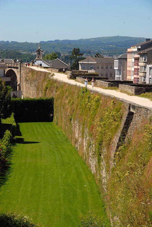 Las Murallas Romanas de Lugo en España