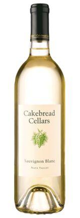 Perfect summer wine. Cakebread Cellars Sauvignon Blanc Napa Valley bottle shot