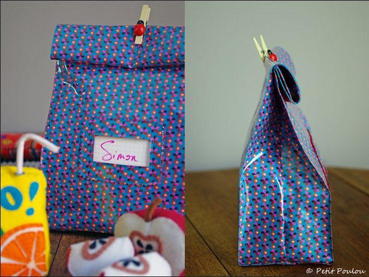Fournitures scolaires personnalisées : un lunch bag pour frimer