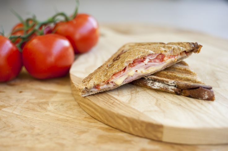 Ham, cheese and tomato. This is one relationship that can't be broken.    Come in and sink your teeth into our Old Faithful jaffle today.