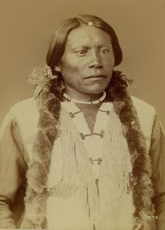 John Yellow Flower aka Wa-ne-ro . Ute Chief. 1868.