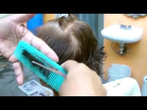 HERMOSO CORTE EN CASCADA ( PARA DAMA) - YouTube